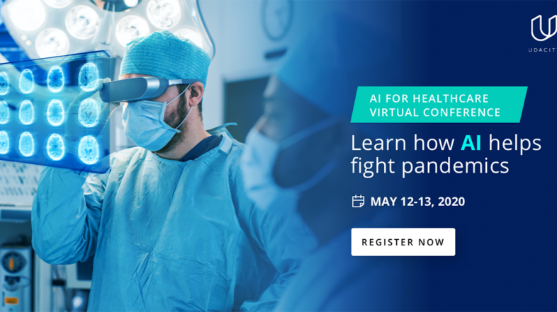 """CoatConnect and Udacity's PartnerShip """"AI in Healthcare at Times of Coronavirus"""""""